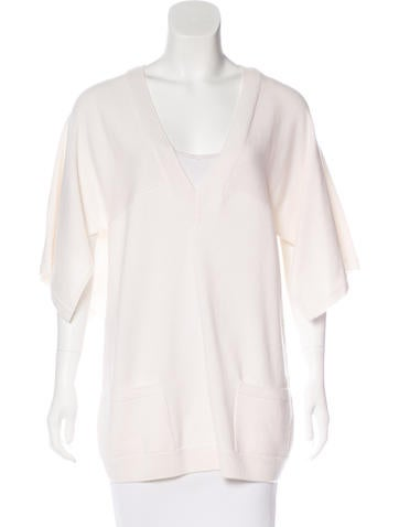 Chanel Cashmere Cape Sweater w/ Tags None