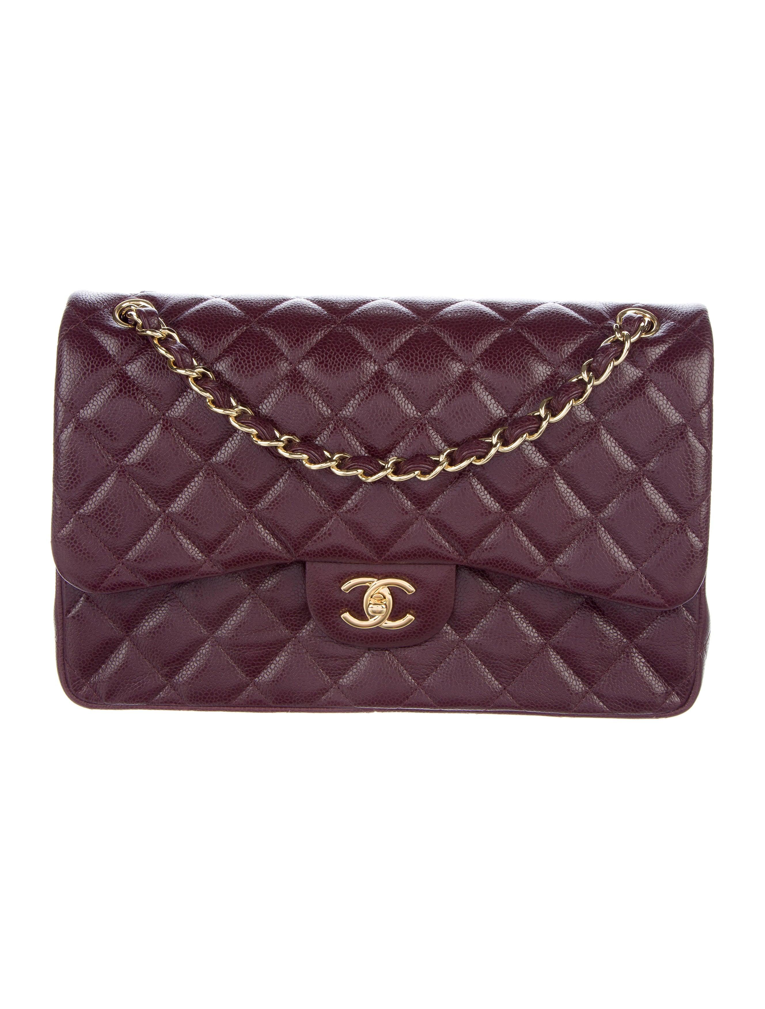 chanel caviar classic jumbo flap bag handbags