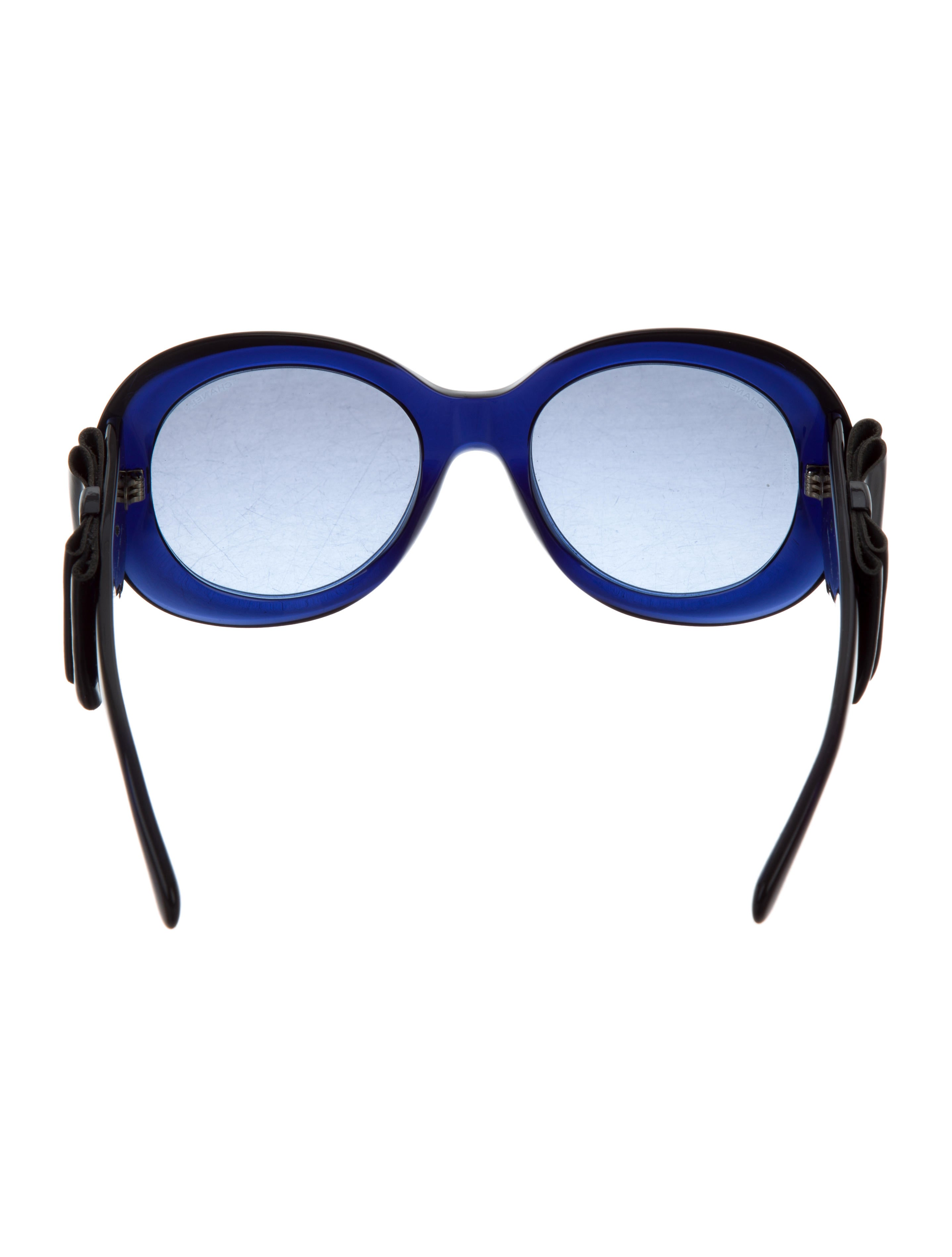 chanel oversize bow sunglasses accessories cha192782