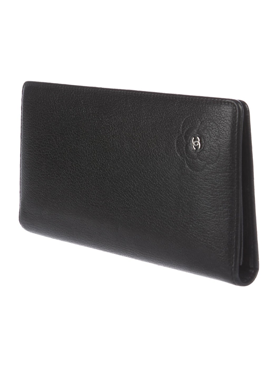 Chanel Leather Camellia Wallet - Accessories - CHA193057 ...