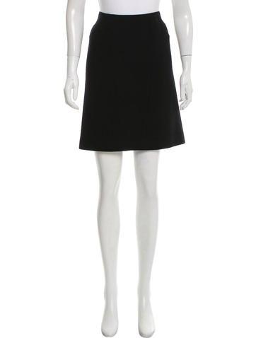 Chanel Knee-Length Wool Skirt None