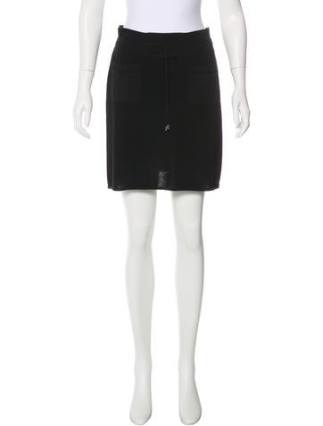 Chanel Knit Skirt None