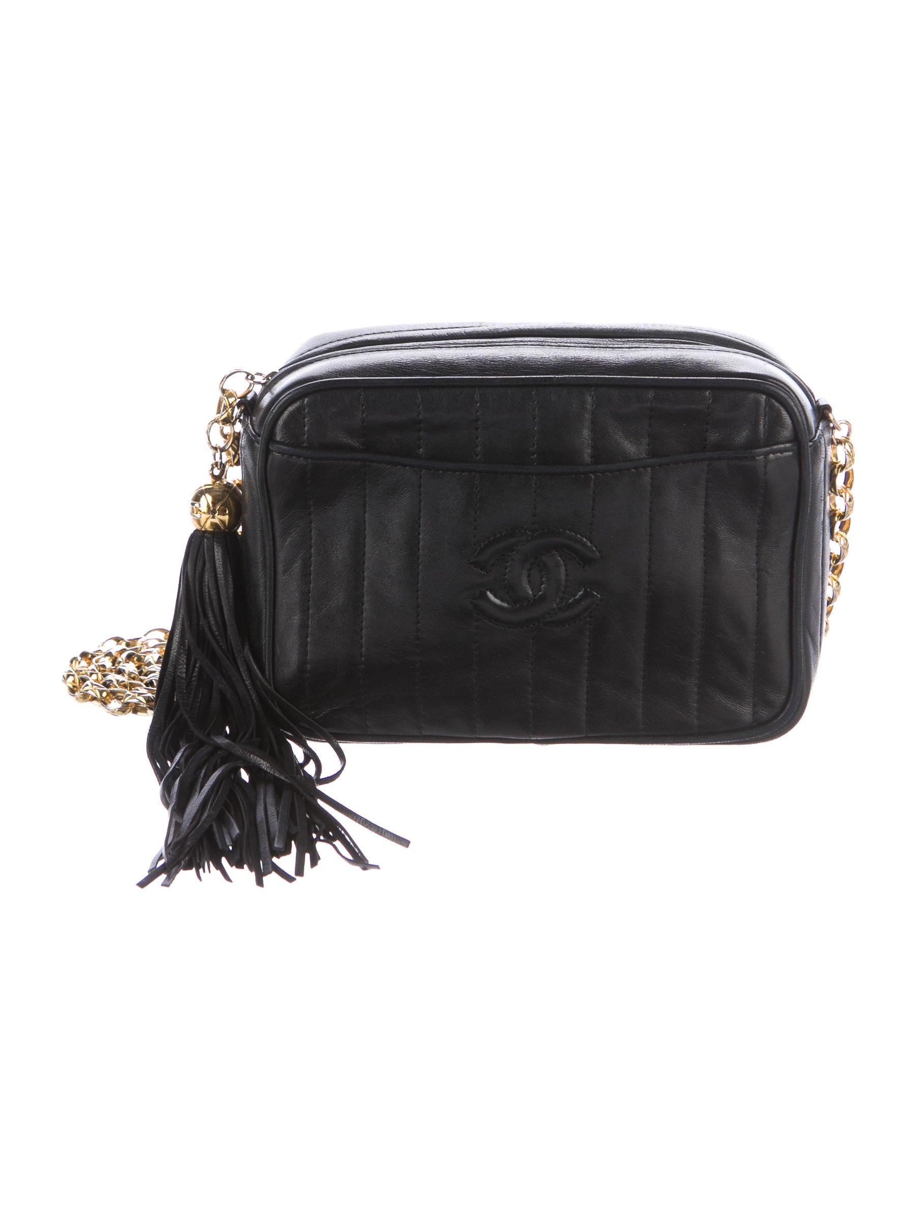 c4fc9a573d31 Vintage Chanel Camera Bag With Tassel | Stanford Center for ...