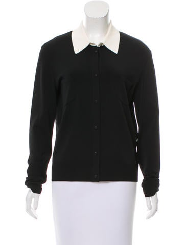 Chanel Colorblock Button-Up Top None