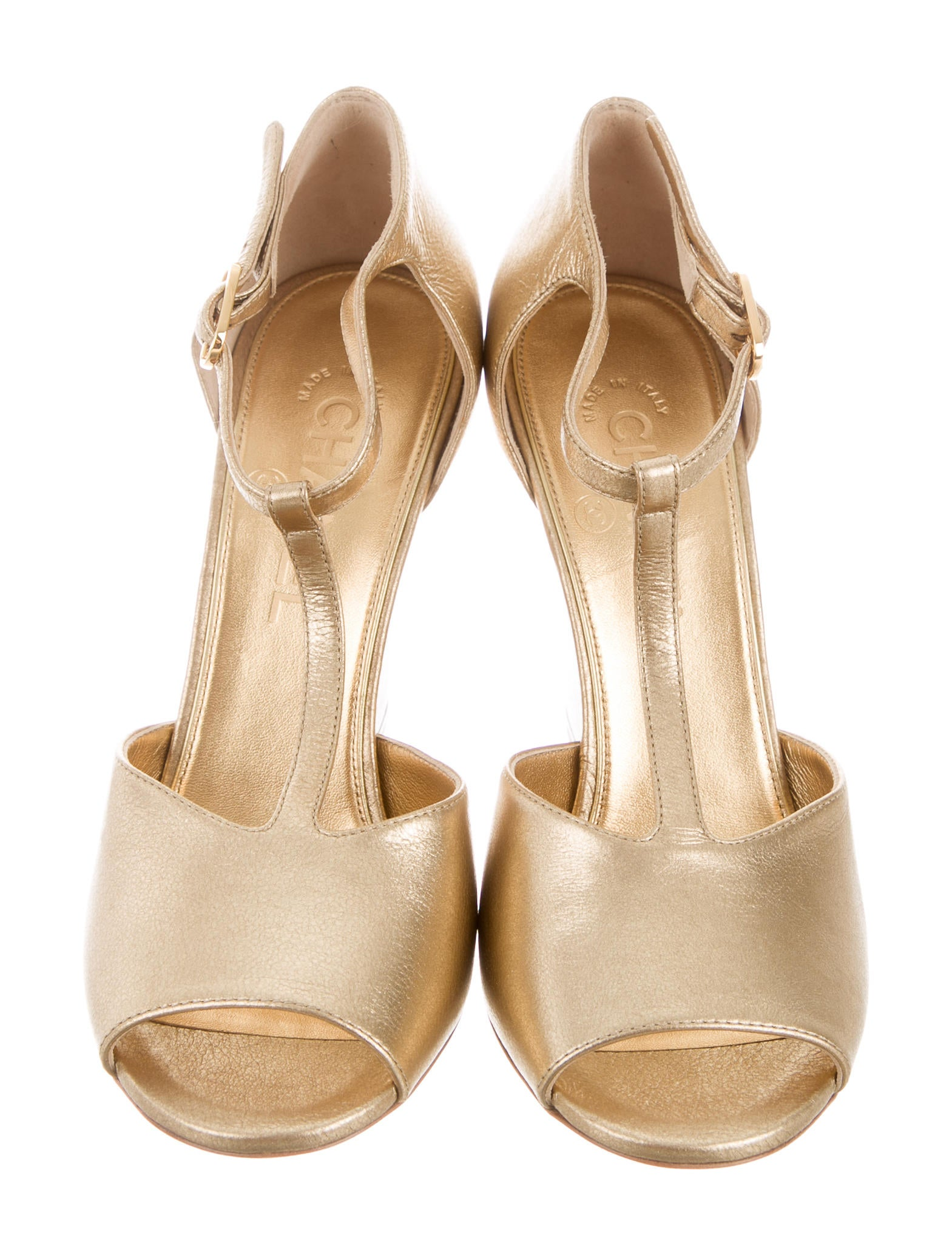 chanel 2015 faux pearl wedge sandals shoes cha194128