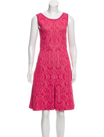 Chanel Matelassé A-Line Dress None