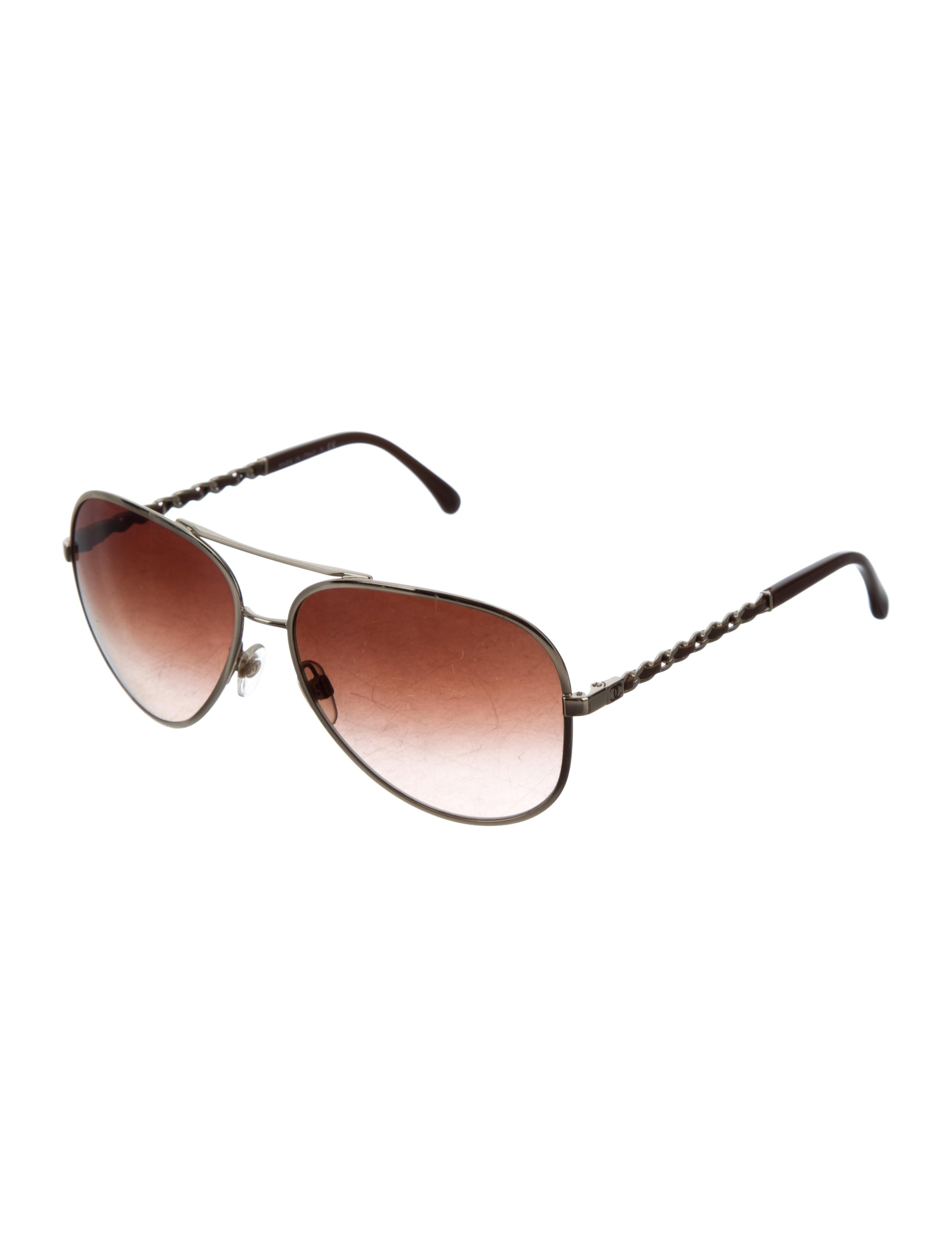 9733205c2d Chanel Aviator Sunglasses