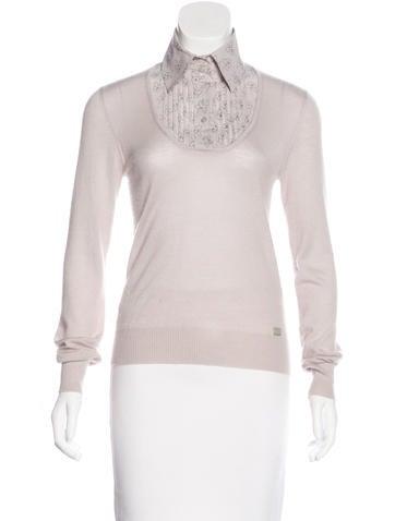 Chanel Cashmere Printed Sweater None