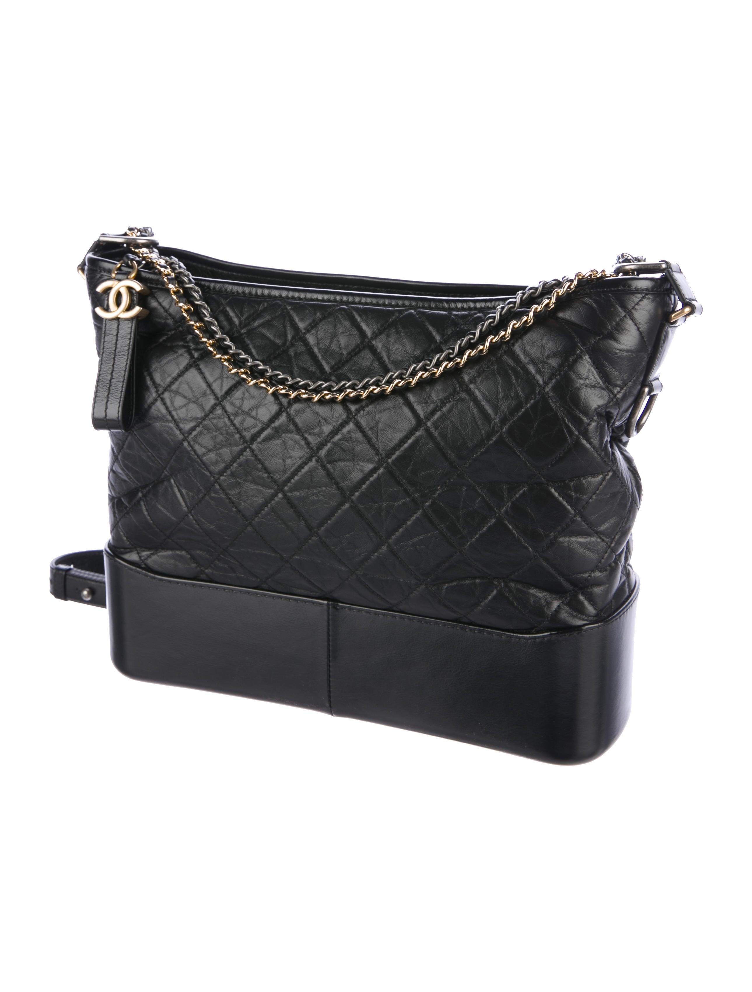 5ab908071a32 Chanel 2017 Large Gabrielle Hobo - Handbags - CHA195382 | The RealReal