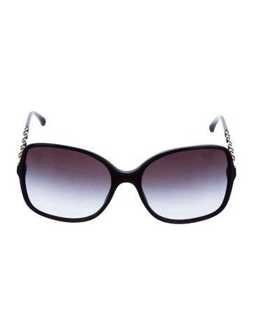 c8fa87932db5f Chanel Chainlink Square Sunglasses