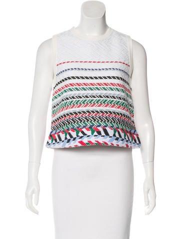Chanel 2016 Jacquard Knit Top None