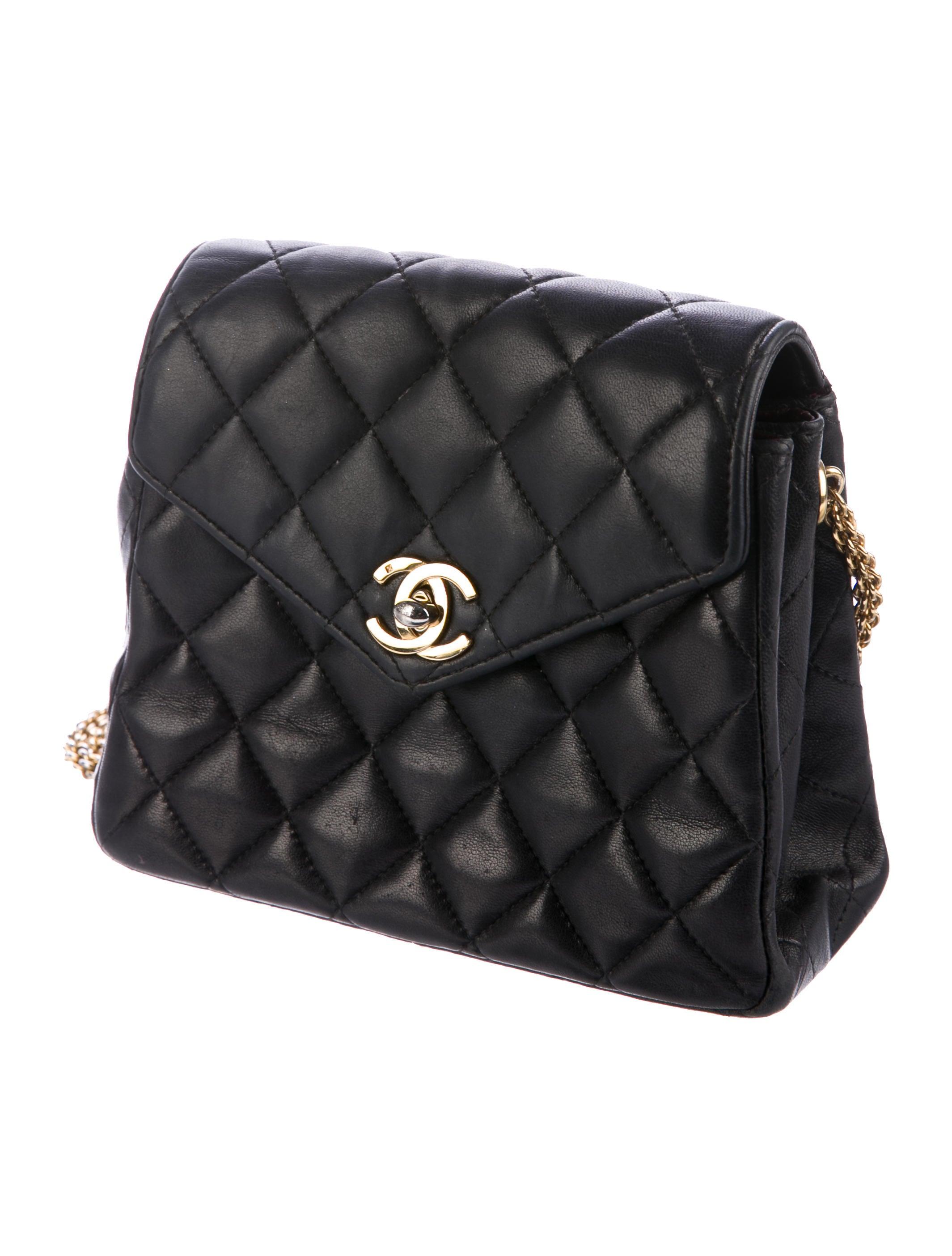 Bijoux Vintage Chanel : Chanel vintage quilted bijoux flap bag handbags