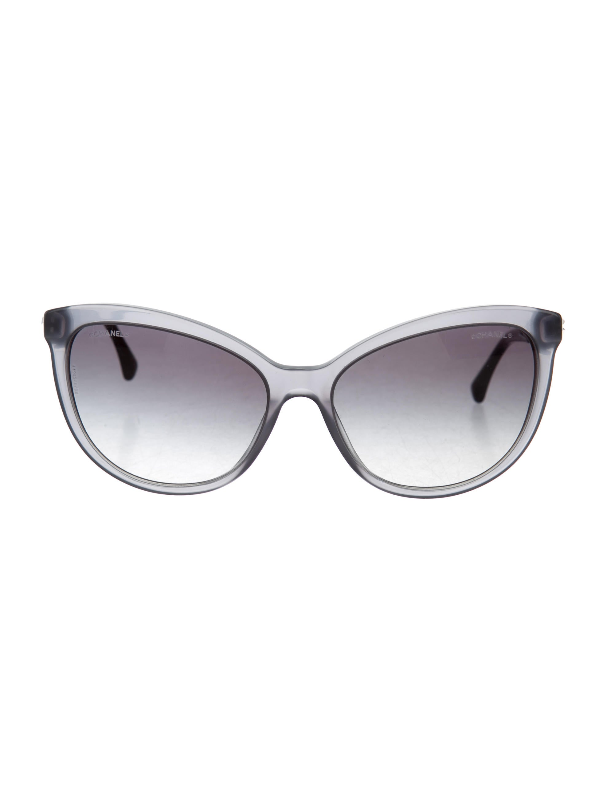 Chanel Bijou Cat Eye Sunglasses