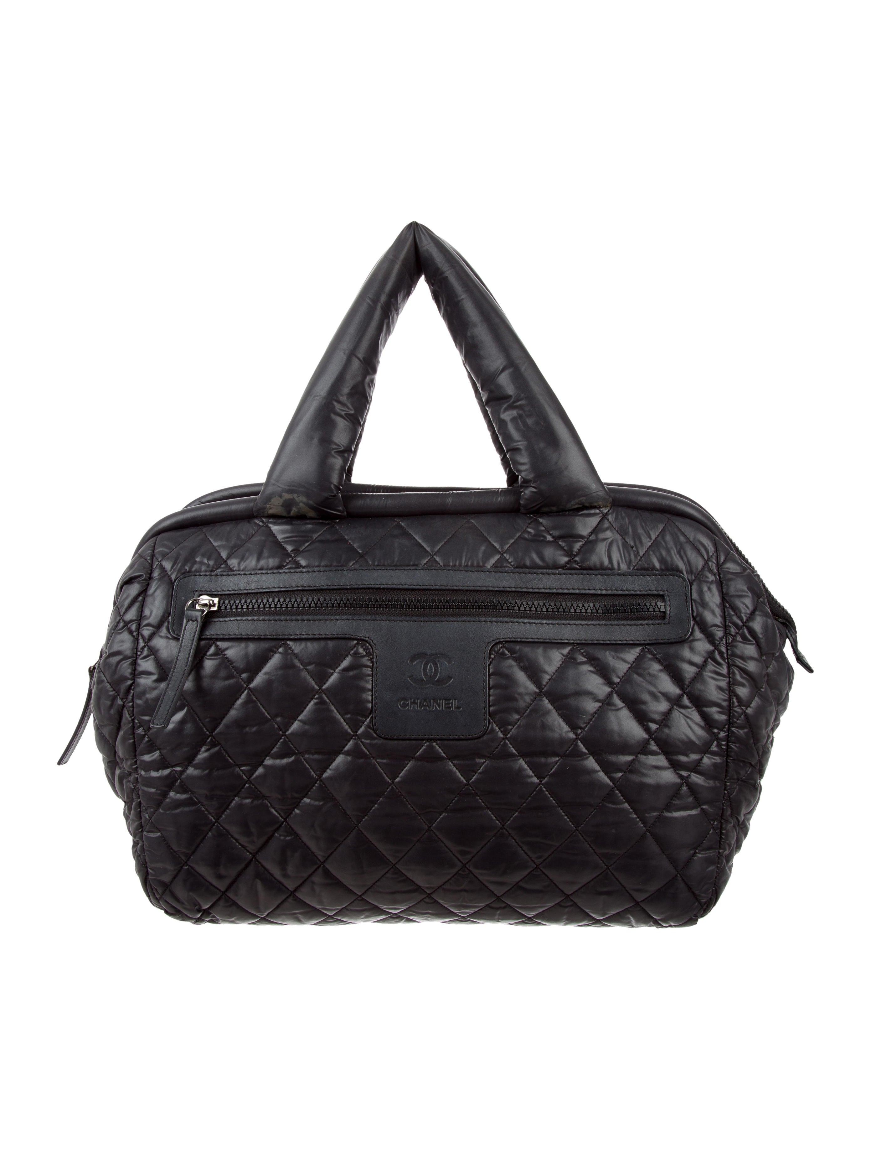Chanel Coco Cocoon Bowler Bag - Handbags - CHA196779 | The ...