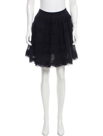 Chanel 2015 A-Line Skirt w/ Tags None