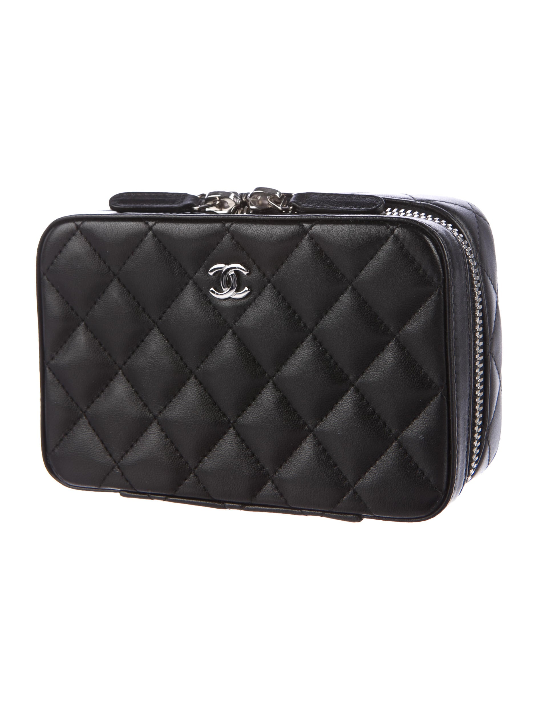 Chanel Quilted Lambskin Jewelry Case - Accessories ...