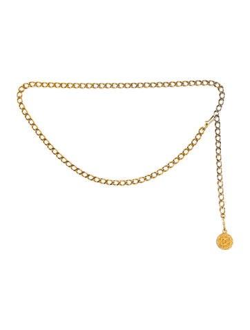 chanel belt. chanel vintage medallion belt