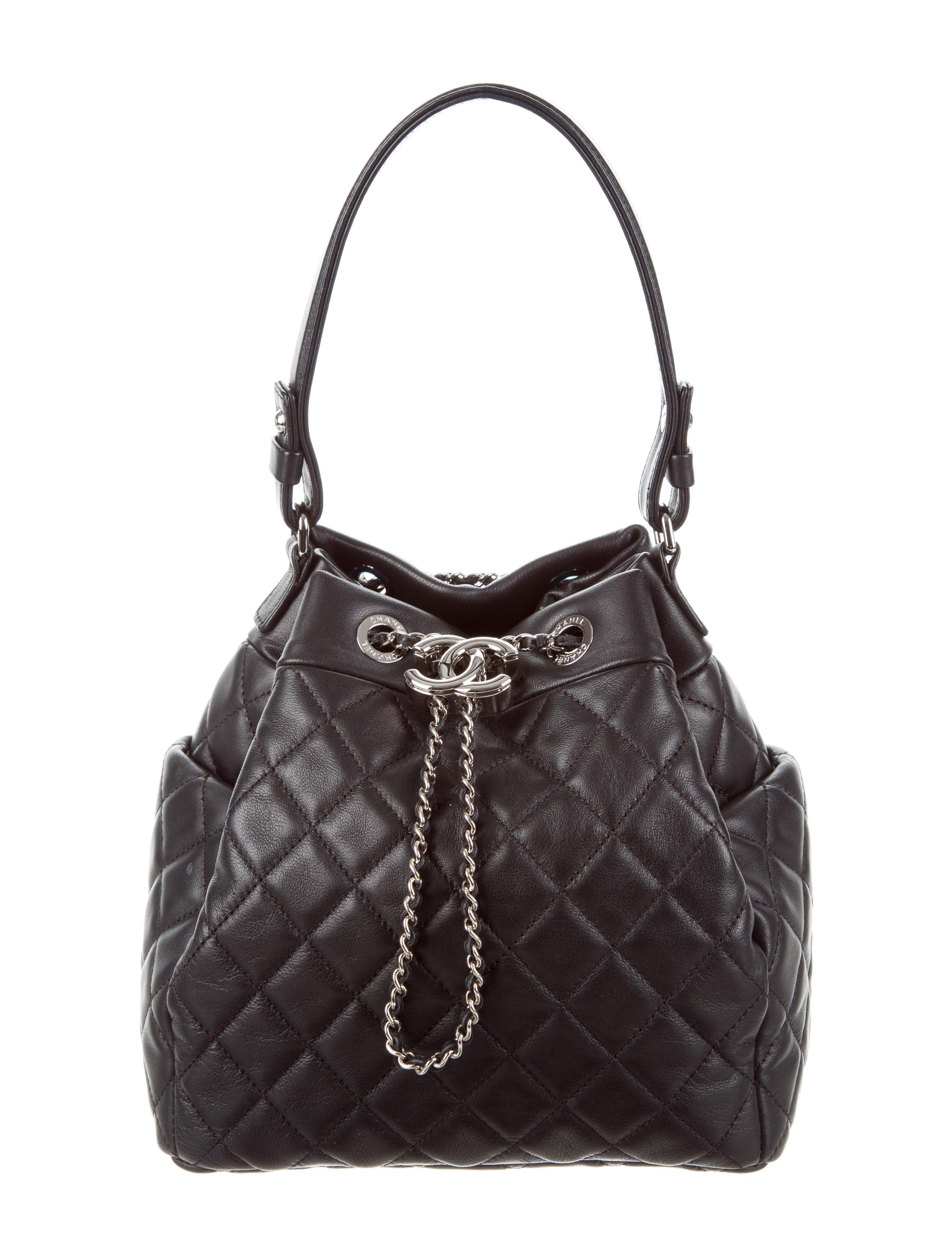 1606640384ba Chanel 2016 Drawstring Bucket Bag | Stanford Center for Opportunity ...