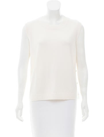 Chanel 2015 Cashmere-Blend Top None