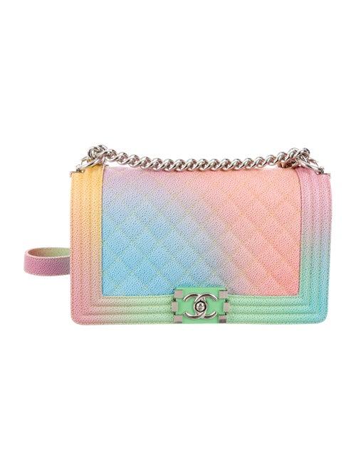 420d70eca8c8 Chanel 2017 Rainbow Medium Boy Bag - Handbags - CHA199884   The RealReal