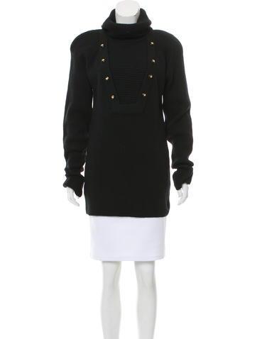Chanel Wool Turtleneck Sweater None