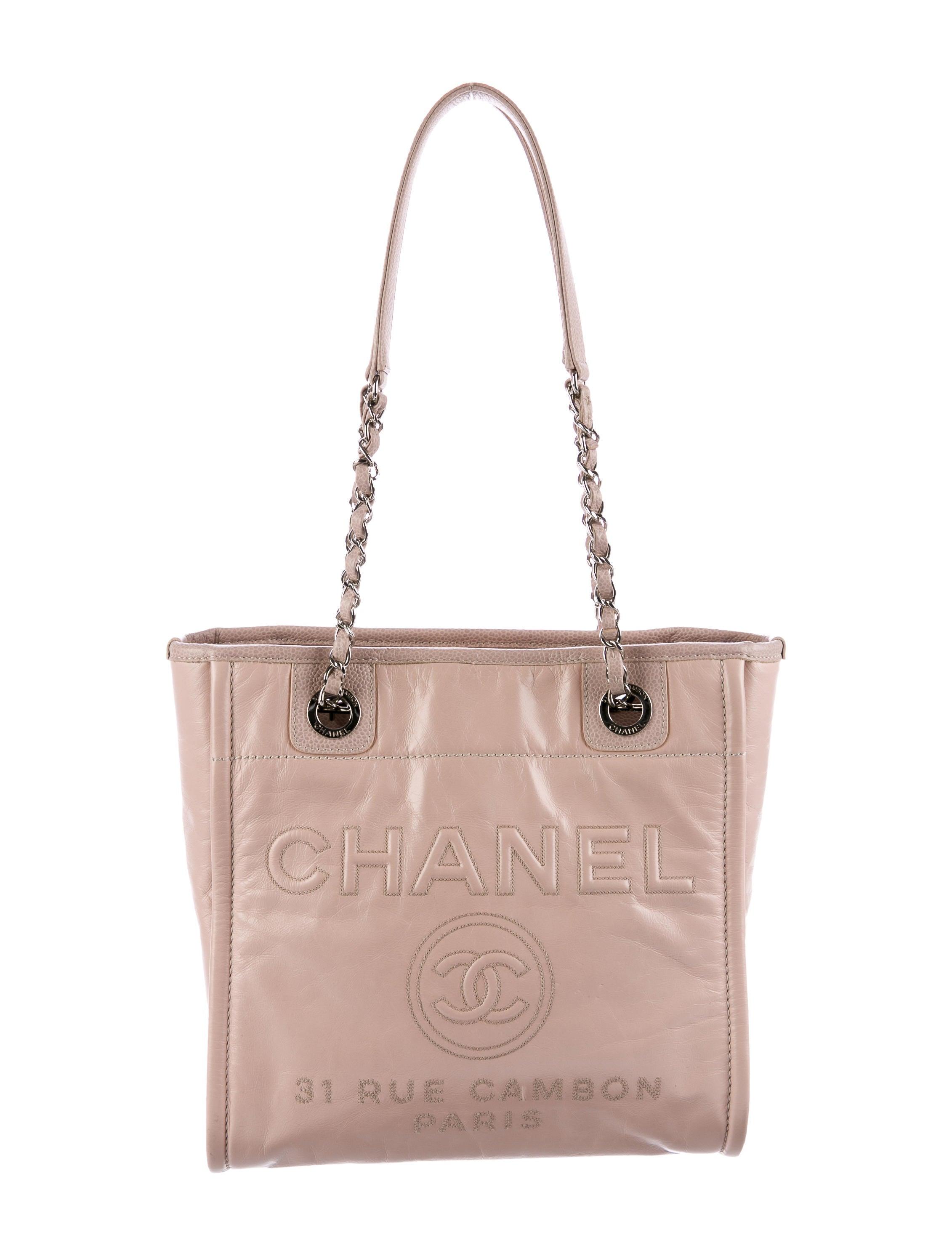 9e7dd2754528 Chanel 2016 Small Deauville Tote - Handbags - CHA200484