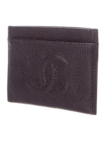 chanel key pouch. chanel timeless vintage card holder key pouch