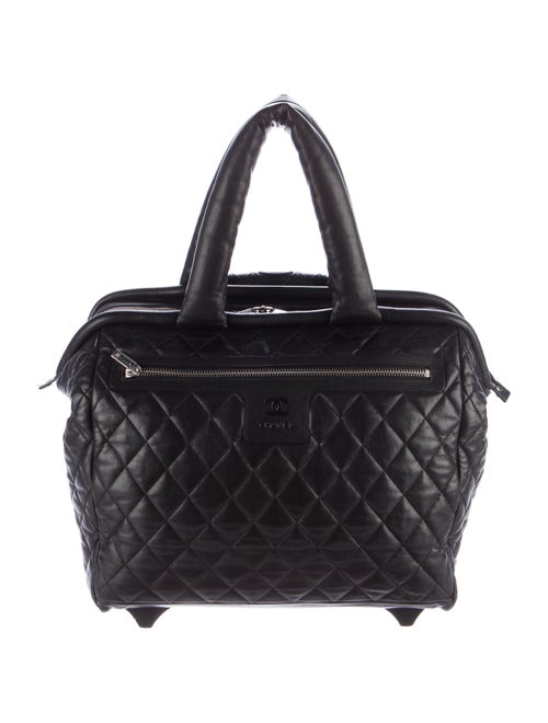 dfb4c1576cc6 Chanel Coco Cocoon Trolley Rolling Case - Handbags - CHA200736 | The ...
