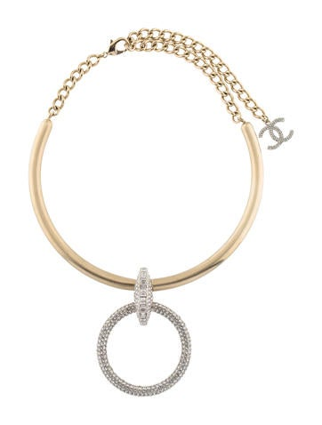 chanel necklace. chanel crystal choker necklace