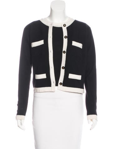 Chanel Cashmere Cardigan Set None