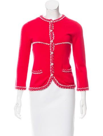 Chanel Lightweight Knit Cardigan None