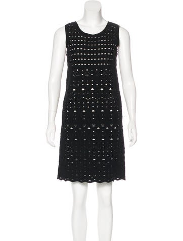 Chanel Knit Sleeveless Dress None