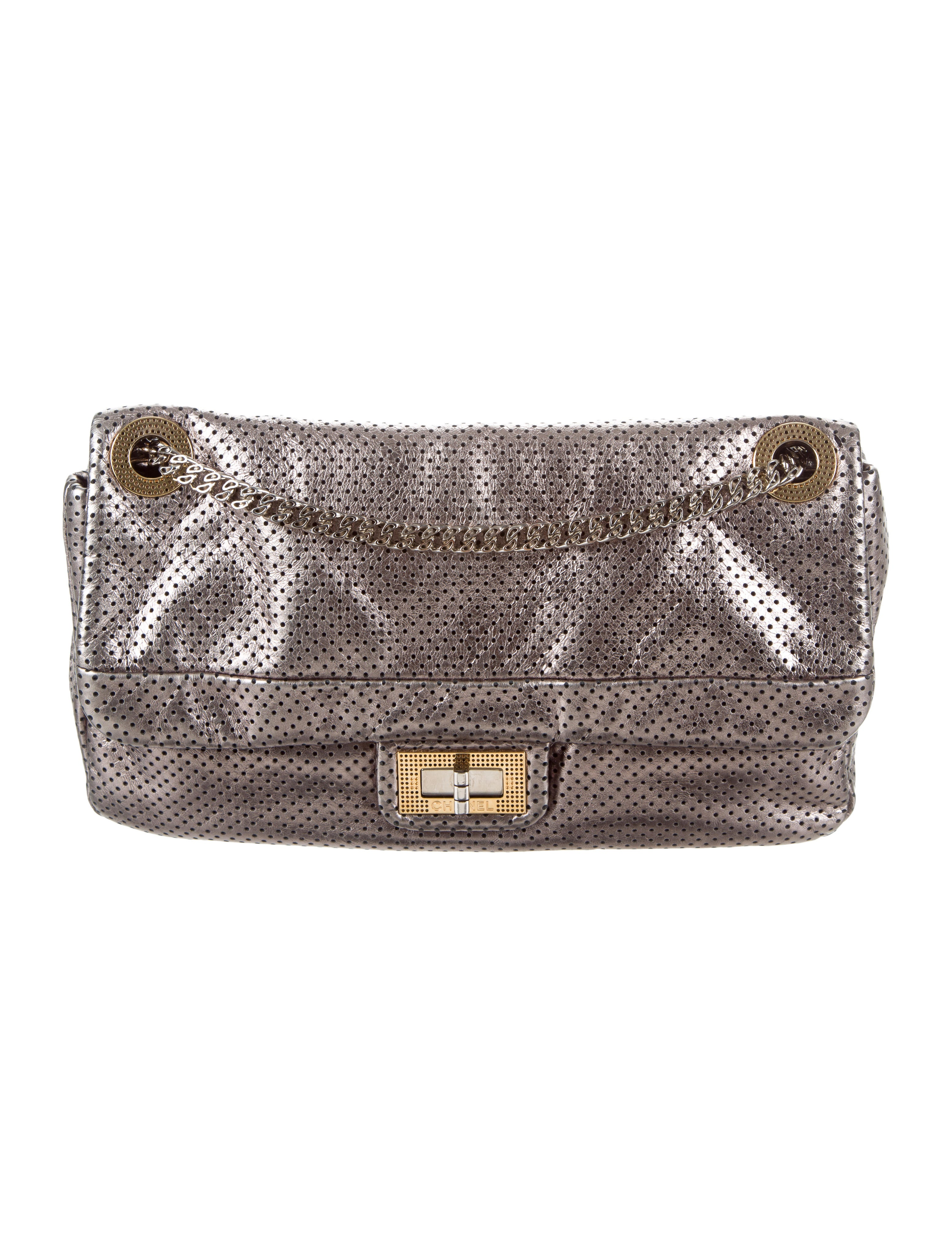 460ab1e48778af Chanel Perforated Drill Flap Bag - Handbags - CHA202467 | The RealReal