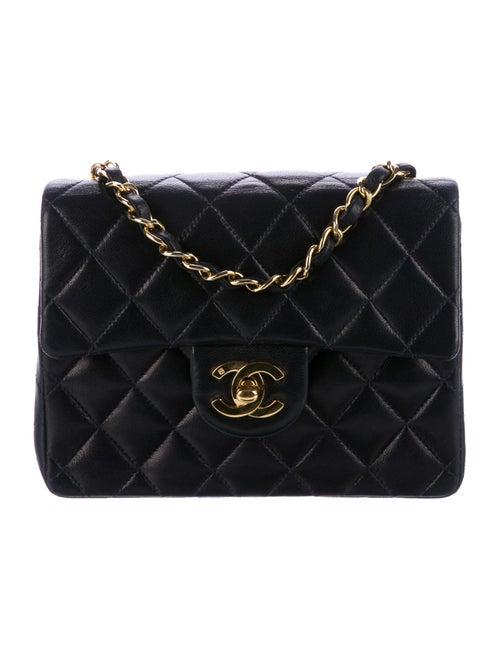 cca7586bb70e Chanel Vintage Square Mini Classic Flap Bag - Handbags - CHA202559 ...