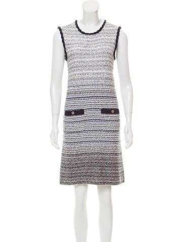 Chanel Knit Mini Dress None