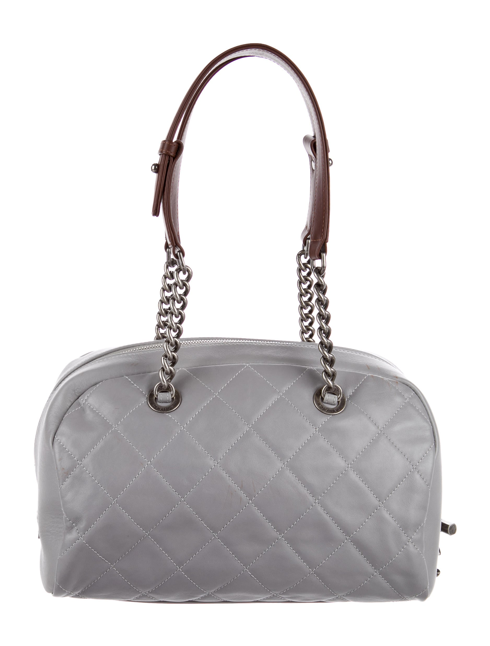2a21247249dc Burberry Haymarket Medium Golderton Tote - Handbags - BUR50858