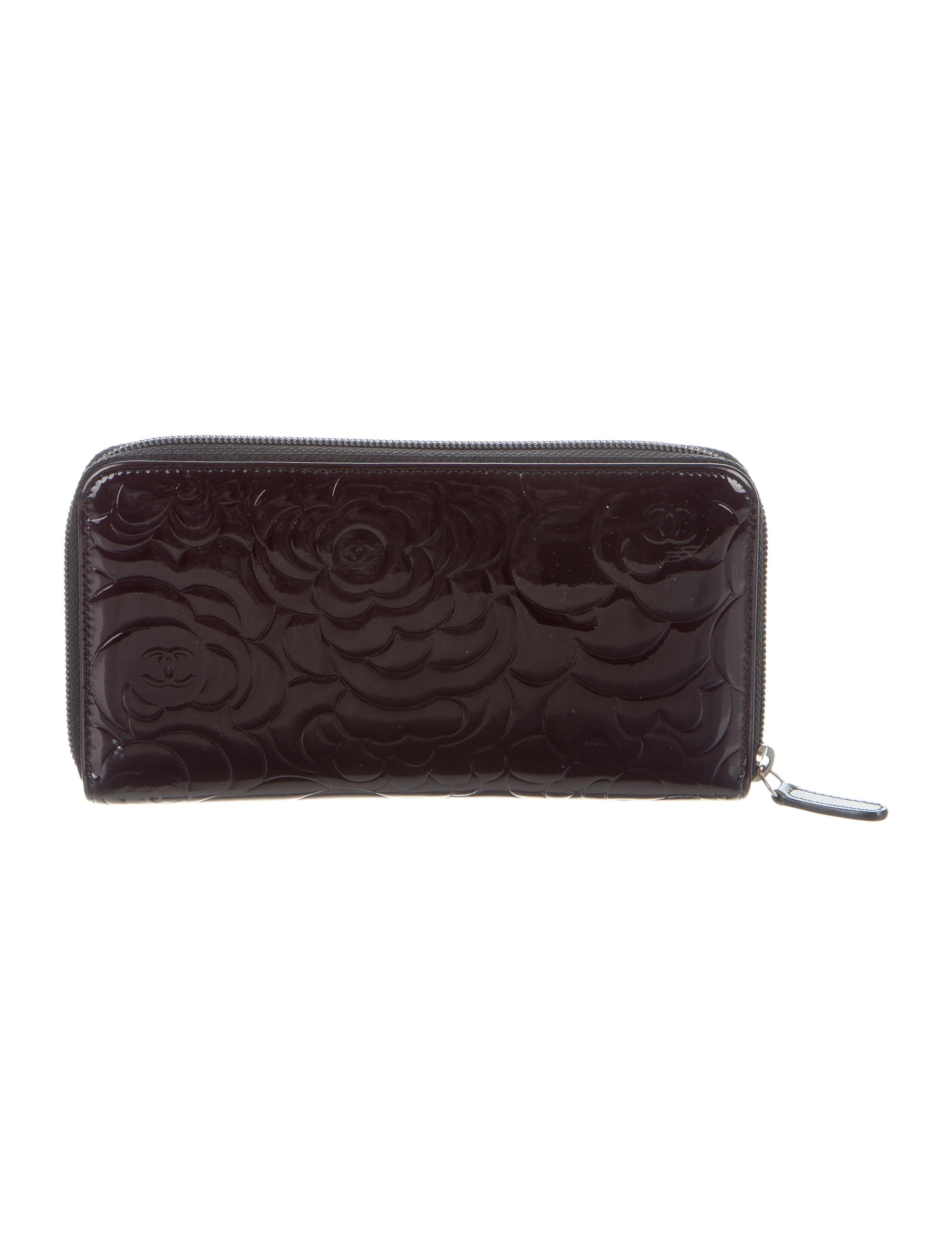 Chanel Camellia Zip Around Wallet - Accessories ...