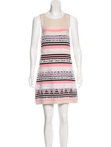 Chanel Cashmere Crochet Dress None
