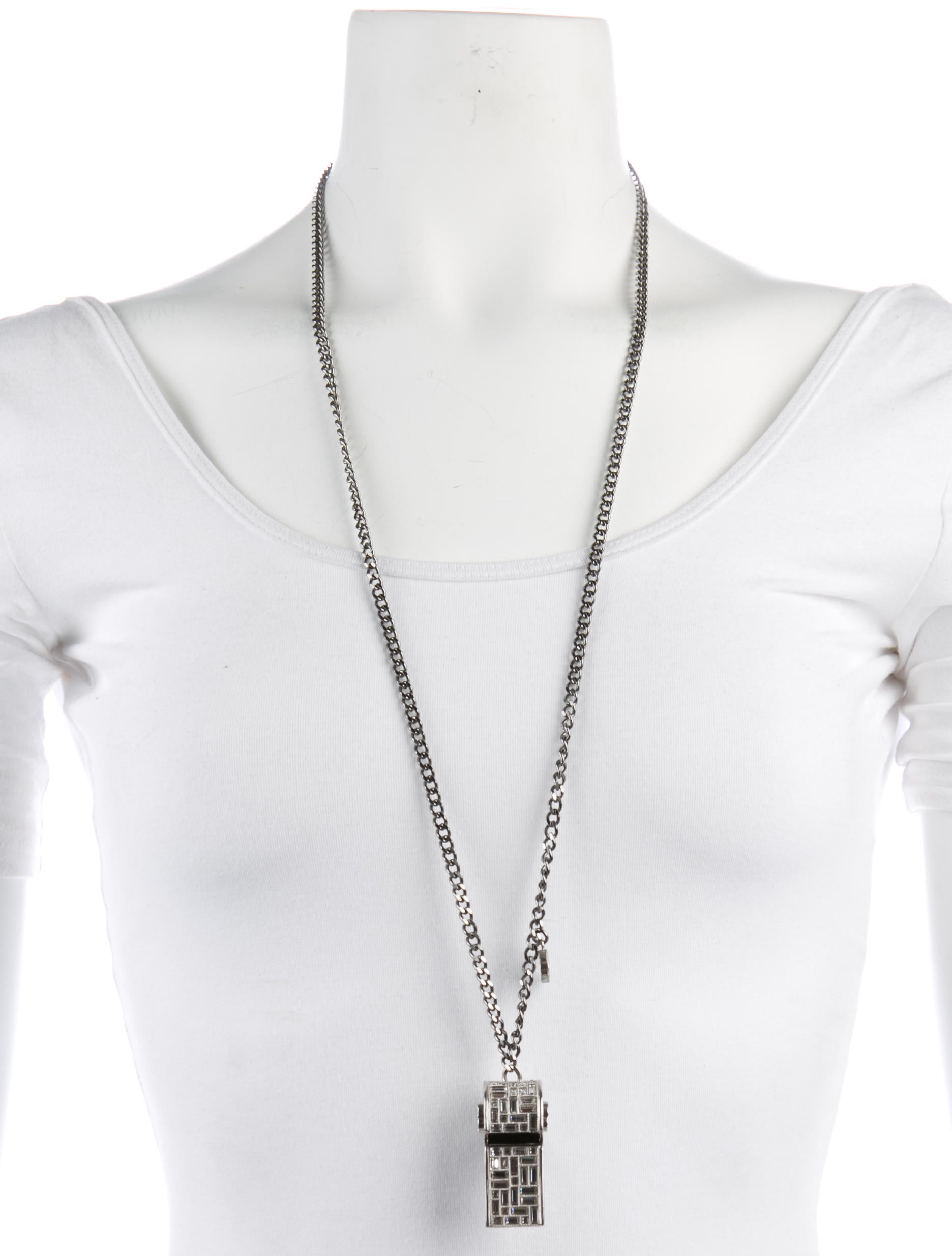 silver sterling i tradesy ralph necklace pendant whistle lauren