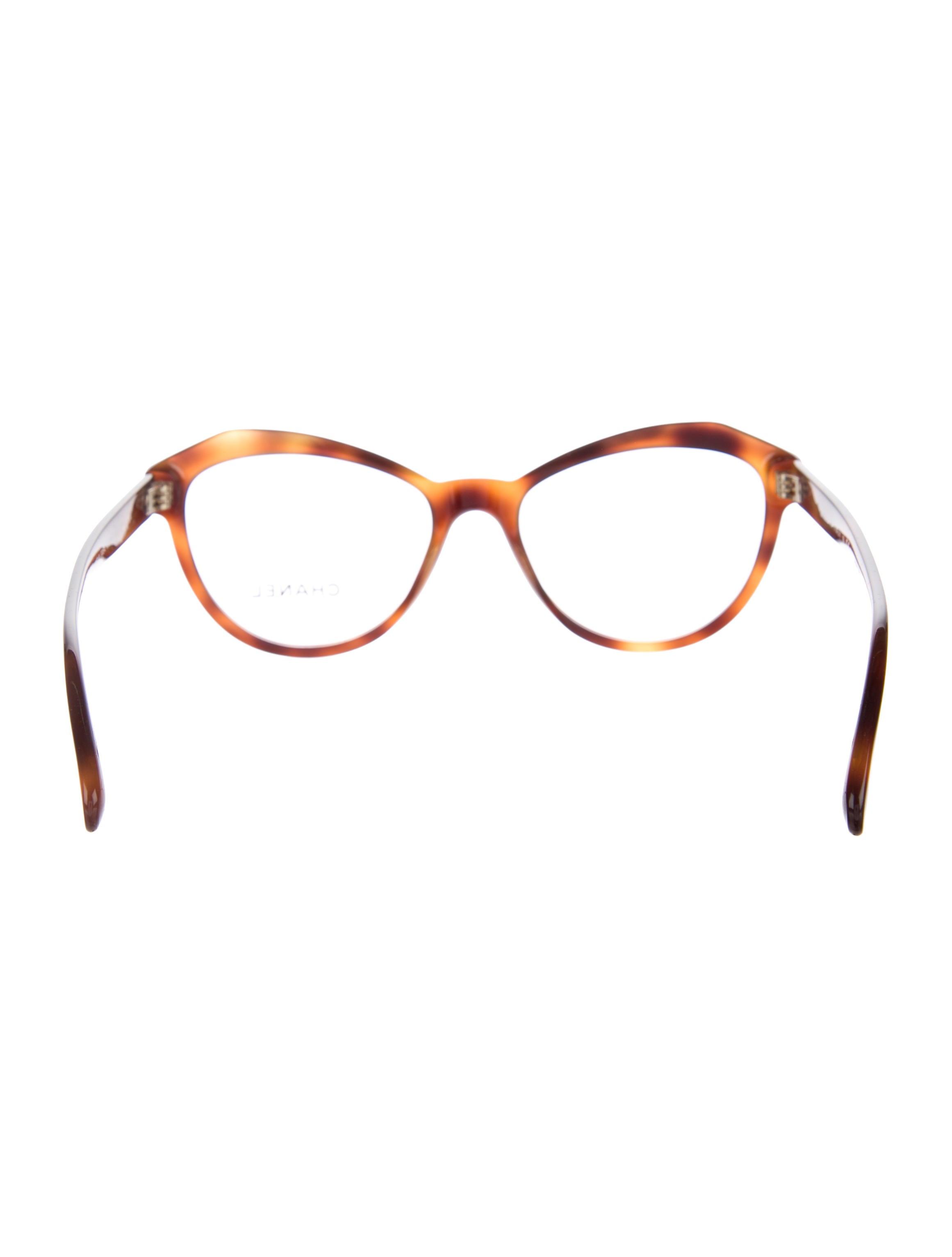 chanel vendome cat eye eyeglasses accessories