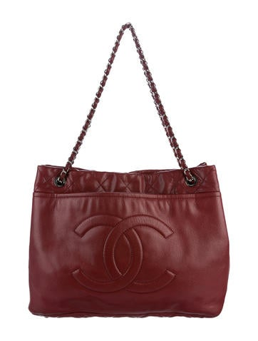 Chanel Large Timeless Soft Shopper Tote None