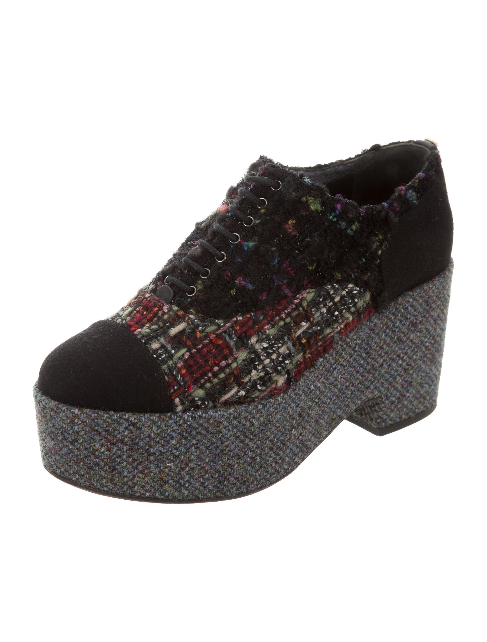 Women Multicolor Tweed Shoes