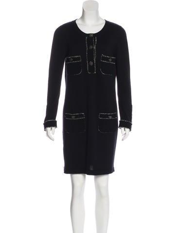 Chanel Cashmere Mini Dress None