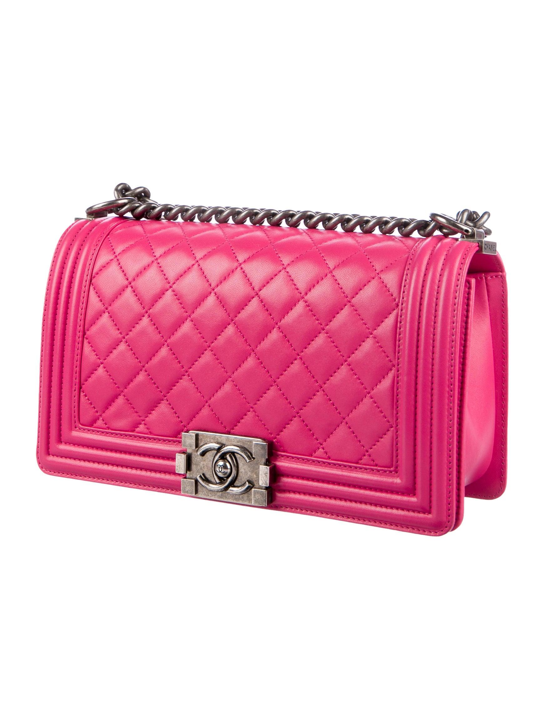 6bb9cbac4dcc32 Chanel 2014 Medium Boy Bag w/ Tags - Handbags - CHA209354 | The RealReal