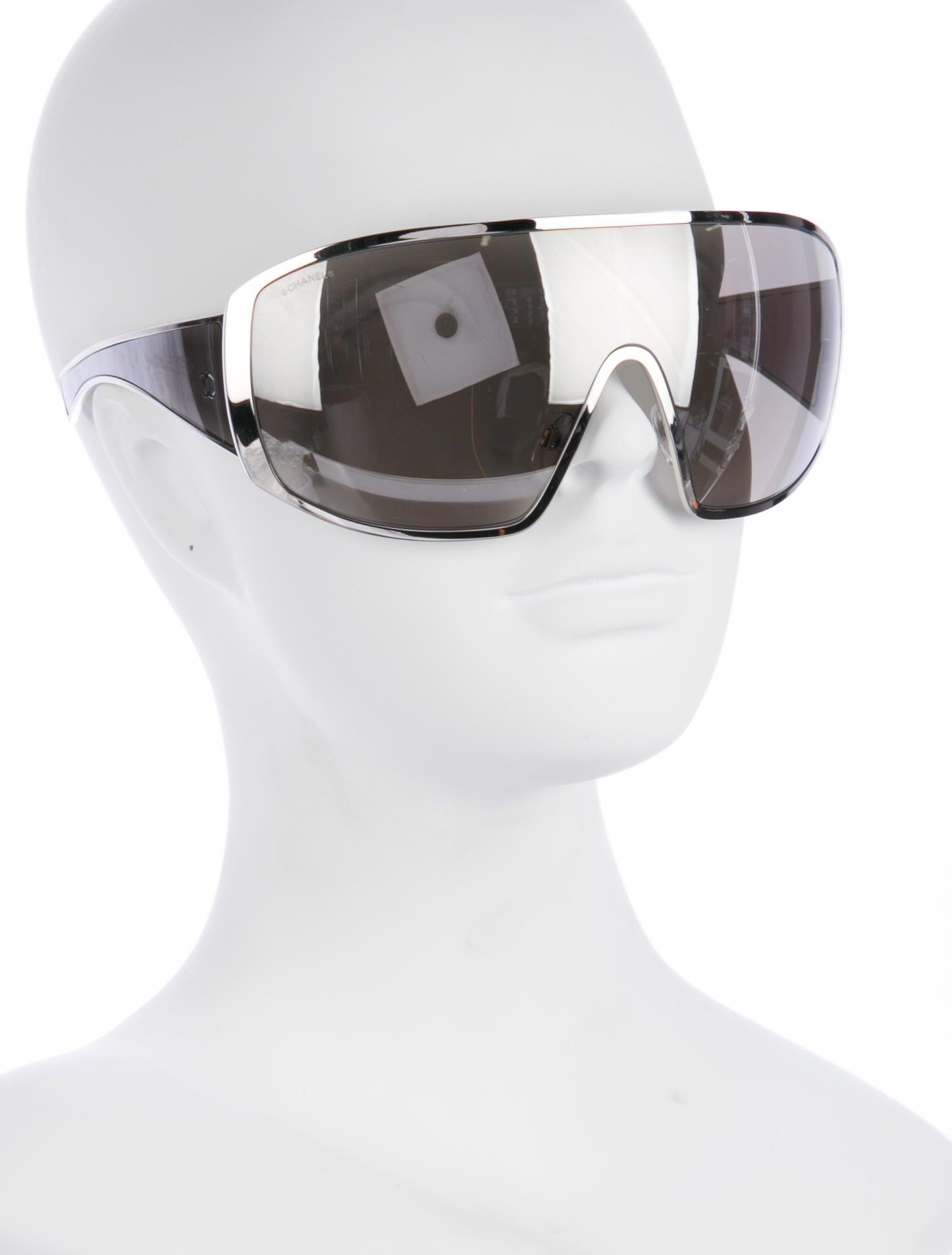 Chanel 2017 Shield Runway Sunglasses - Accessories ...