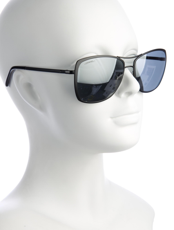 Chanel 2017 Chanel Summer Pilot Sunglasses w/ Tags ...