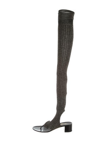 Chanel 2015 Thigh-High Sandals w/ Tags None