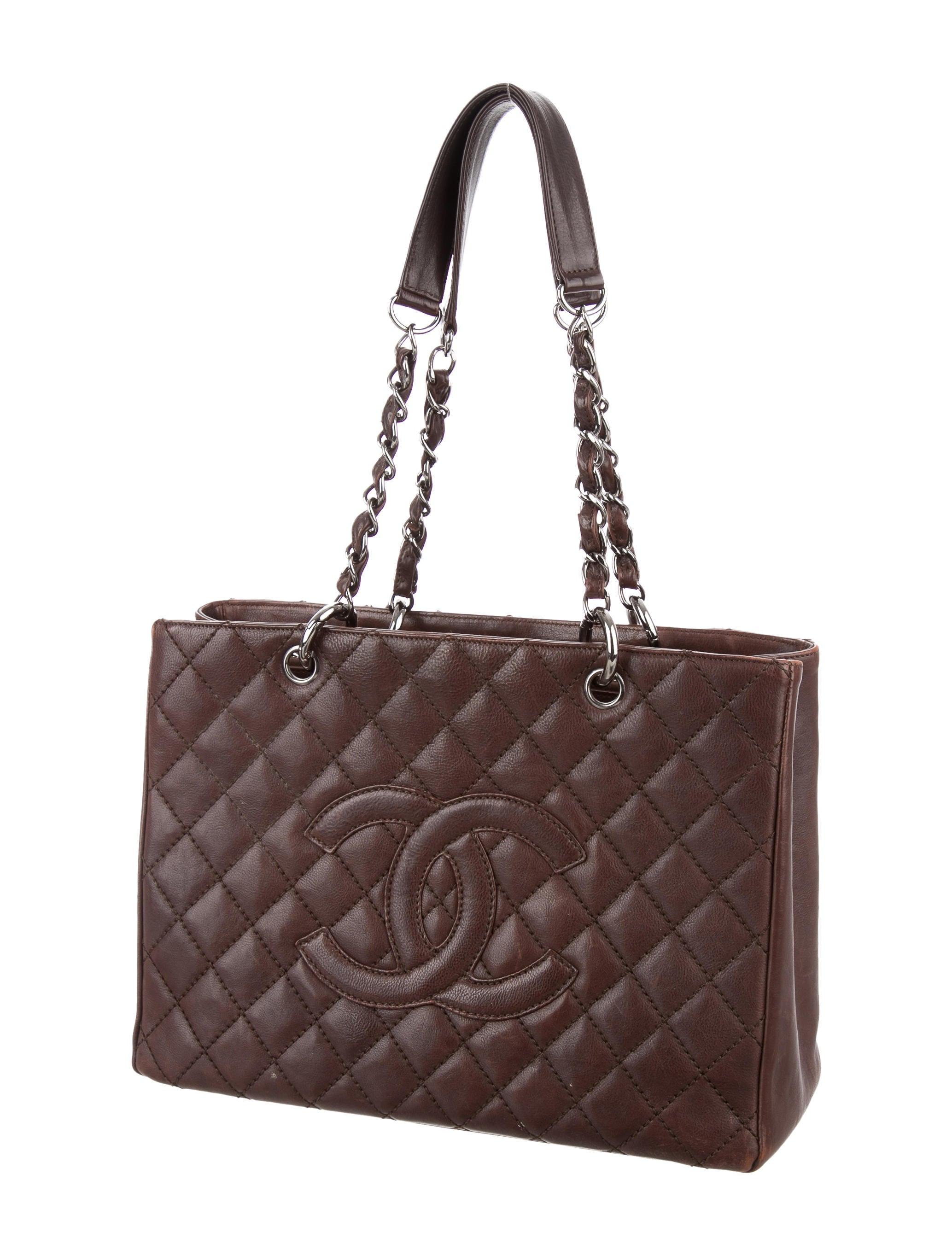 defb6c424ca04 Chanel Grand Shopping Tote - Handbags - CHA211979