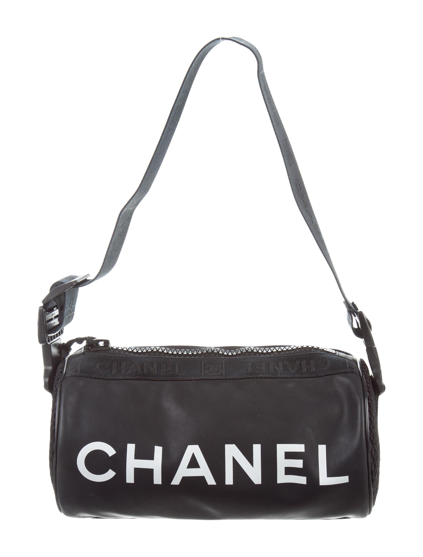 Chanel Sport Line Mini Duffle Bag - Handbags - CHA212965   The RealReal