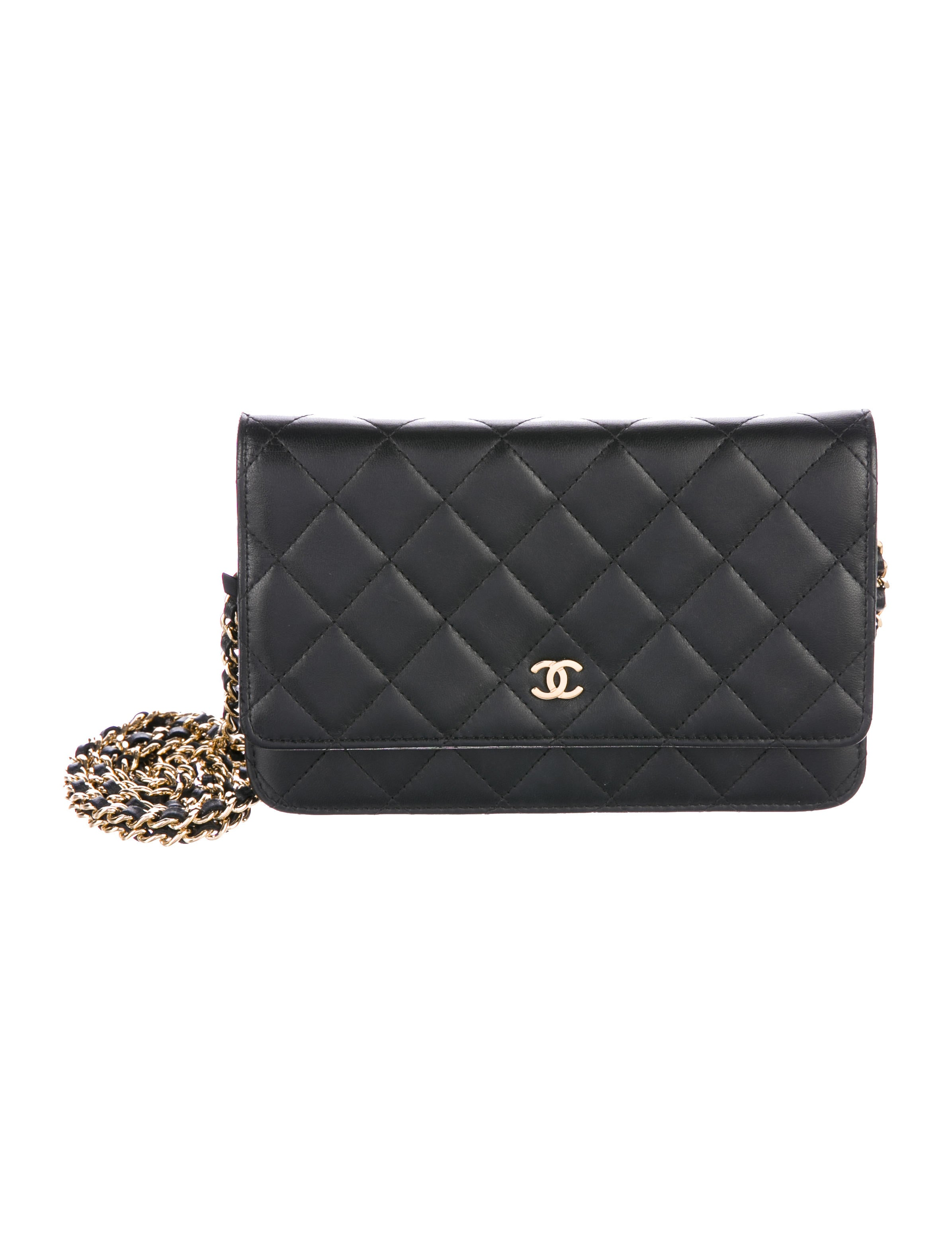 Chanel 2016 Quilted Wallet On Chain - Accessories ...